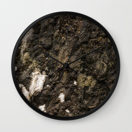 Living on Concrete Wall Clock