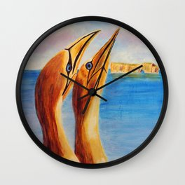 Crasy about her | Fou D'Elle Wall Clock