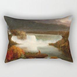 Distant View of Niagara Falls,1830, Thomas Cole Rectangular Pillow