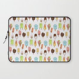 Watercolor Ice Cream Doodle Laptop Sleeve