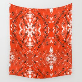 An Orange Nation Wall Tapestry