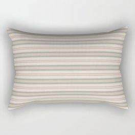 Beige Stripes Rectangular Pillow