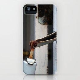 hinge bird iPhone Case