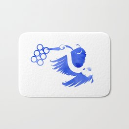 Heron (Keep it clean) Bath Mat