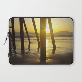 Pismo Beach Pier in the Sunset Laptop Sleeve