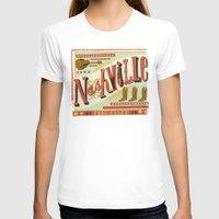 nashville T-shirts featuring Nashville by Mary Kate McDevitt