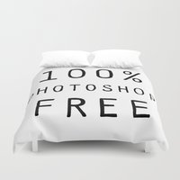 text Duvet Covers featuring Text by Meredith Mackworth-Praed