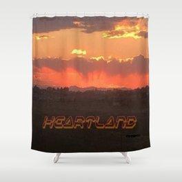 Heartland Sunset Shower Curtain