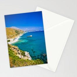 Landscape on Crete Stationery Cards