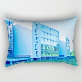 Apartment buildings with outdoor facilities Rectangular Pillow