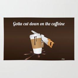 Gotta cut down on the caffeine Rug