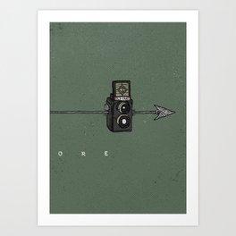 Explore - III Art Print