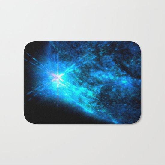 Blue Starlight Bath Mat