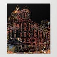 building Canvas Prints featuring Building by Dangerpro