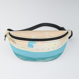 Let Me Tell You About My Boat - The Belafonte Boat Art - The Life Aquatic Steve Zissou Art Fanny Pack