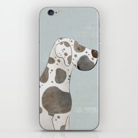 great dane iPhone & iPod Skins featuring Great Dane by 52 Dogs