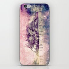 Live and Explore Mountains  iPhone Skin