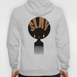 Afro Slay Black Woman | Black Girl Magic | Black Girls Rock T-Shirt Hoody
