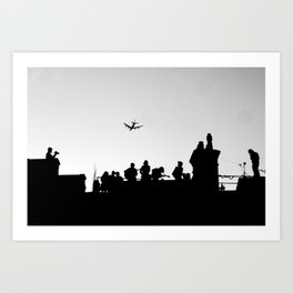 Brixton Buskers Art Print