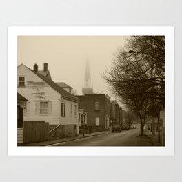Ghost Church I Art Print
