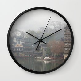 China's ancient town Wall Clock