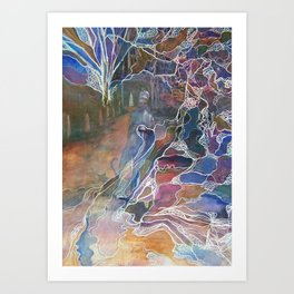 The Weaver Art Print
