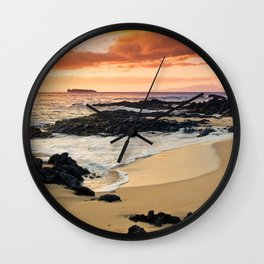 Paako Beach Dreams Wall Clock