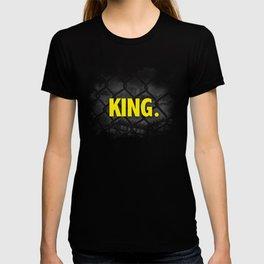 "Urban Font ""King"" Street Design Style T-shirt"