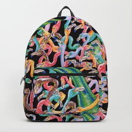 Flamencos y diplodocus Backpack