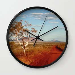 Australian Outback Wall Clock