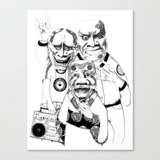 East/ West -->Please vote for my submission on Threadless  !!  Canvas Print