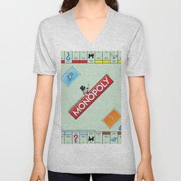 Monopoly Unisex V-Neck