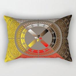 The Four Direction Rectangular Pillow