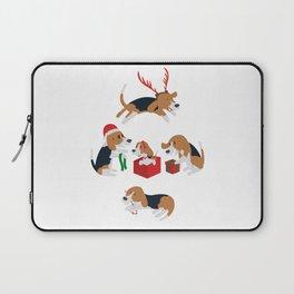 Beagle christmas Laptop Sleeve