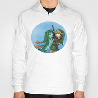 fishing Hoodies featuring Fishing by Phantasmic Dream