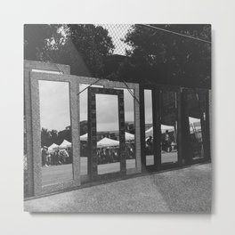 jagged reflections Metal Print