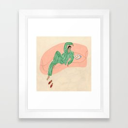 Yolke Girl Framed Art Print