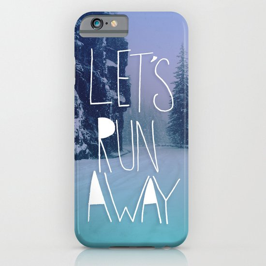 Let's Run Away: Rainier National Forest, Oregon iPhone & iPod Case