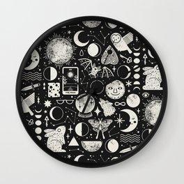 Lunar Pattern: Eclipse Wall Clock