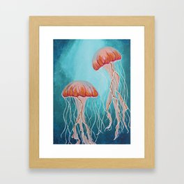 Depths Framed Art Print