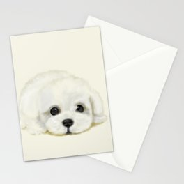 puppy puppy Stationery Cards