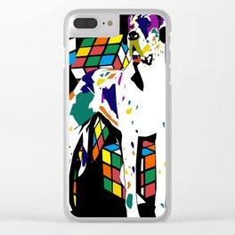 Rubik dane Clear iPhone Case