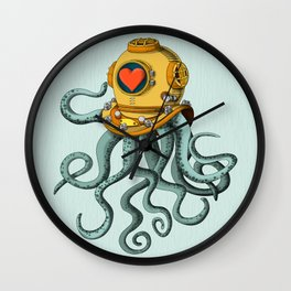 I'm falling in love with you? (left) Wall Clock