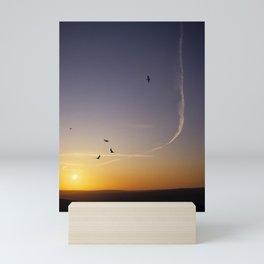 Sunset over Sussex Mini Art Print