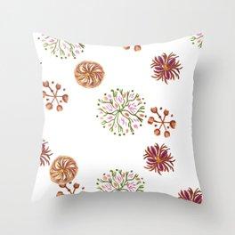 japanese signet pattern Throw Pillow