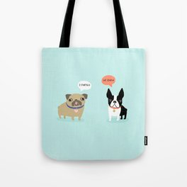 Dog Fart Tote Bag