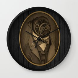 Nobility Dogs Wall Clock