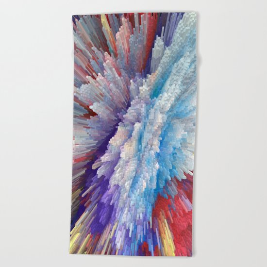 Abstract 115 Beach Towel