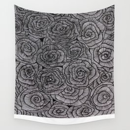 #000000 Wall Tapestry