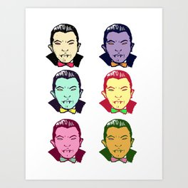 The Drac Pack  Art Print
